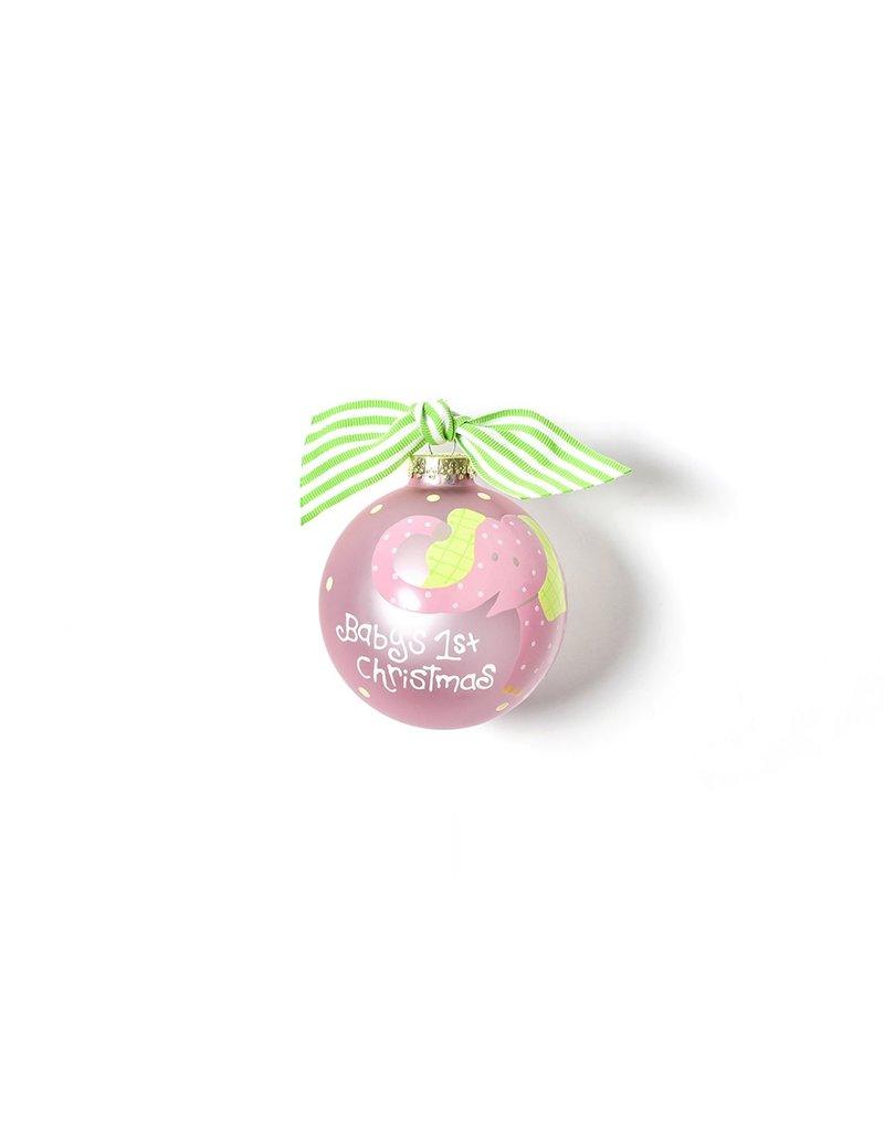 Elephant Pink Ornament