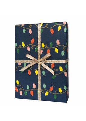 Holiday Lights Wrapping Sheet
