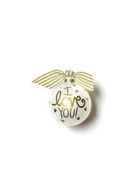 Coton Colors I Love You Ornament