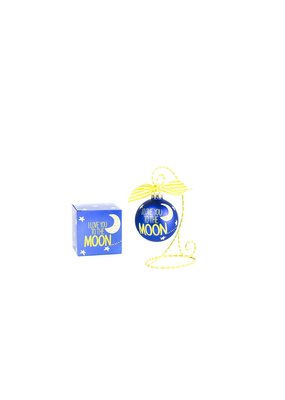 Coton Colors I Love You to the Moon and Back Ornament
