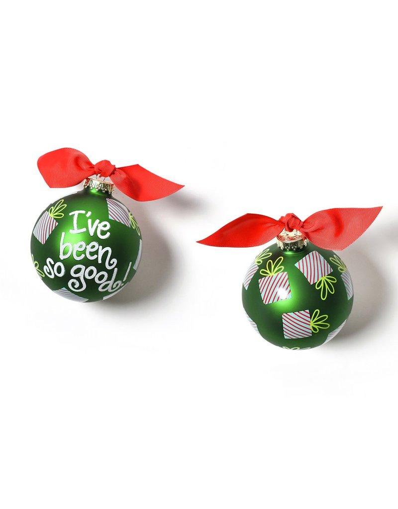 I've Been So Good Ornament