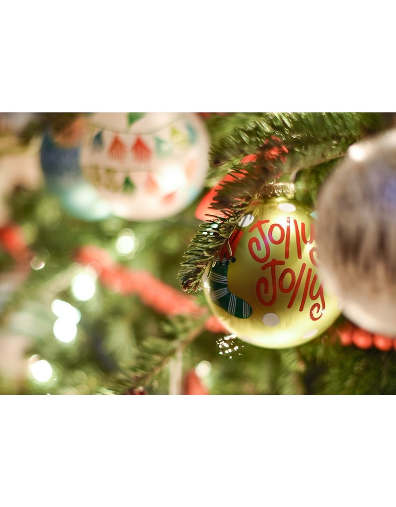 Coton Colors Jolly Jolly Stockings Ornament