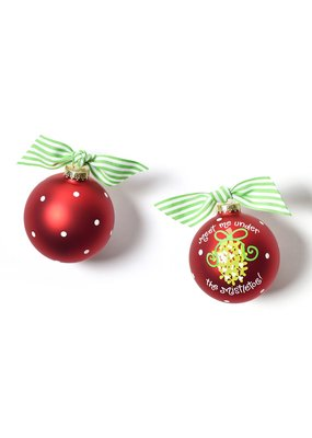 Meet Under Mistletoe Ornament