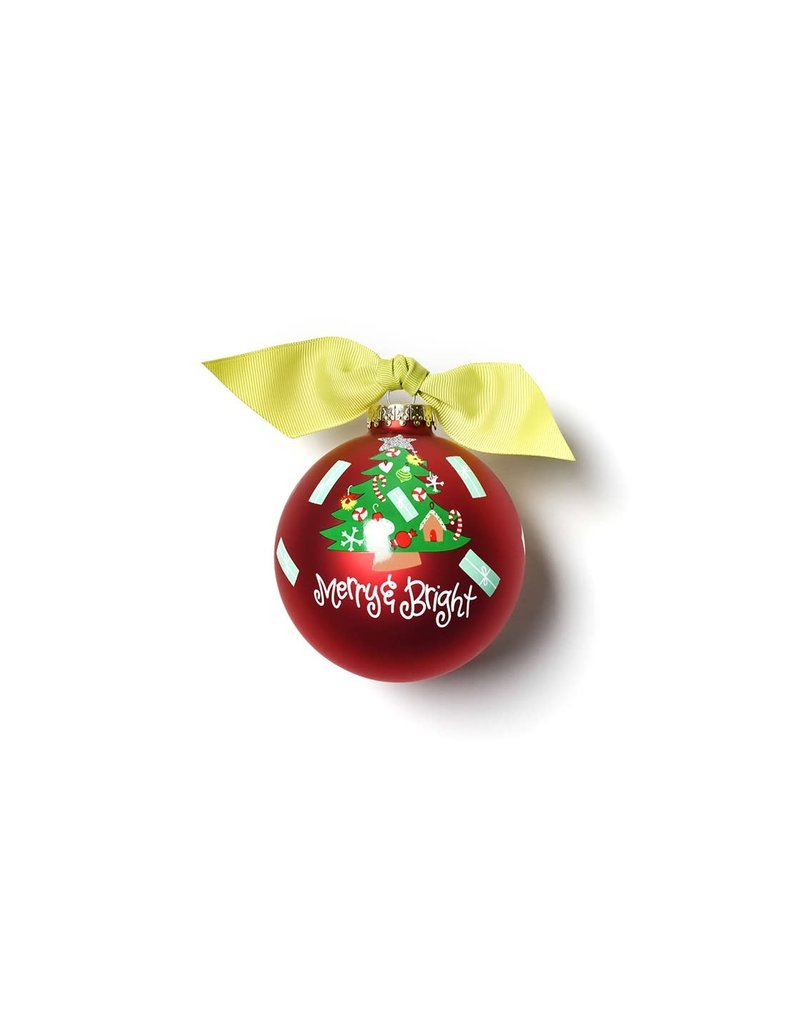 Merry & Bright Vintage Tree Ornament