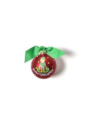 Coton Colors Santa's Little Helper Boy Ornament