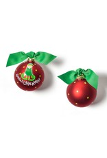 Coton Colors Santa's Little Helper Girl Ornament