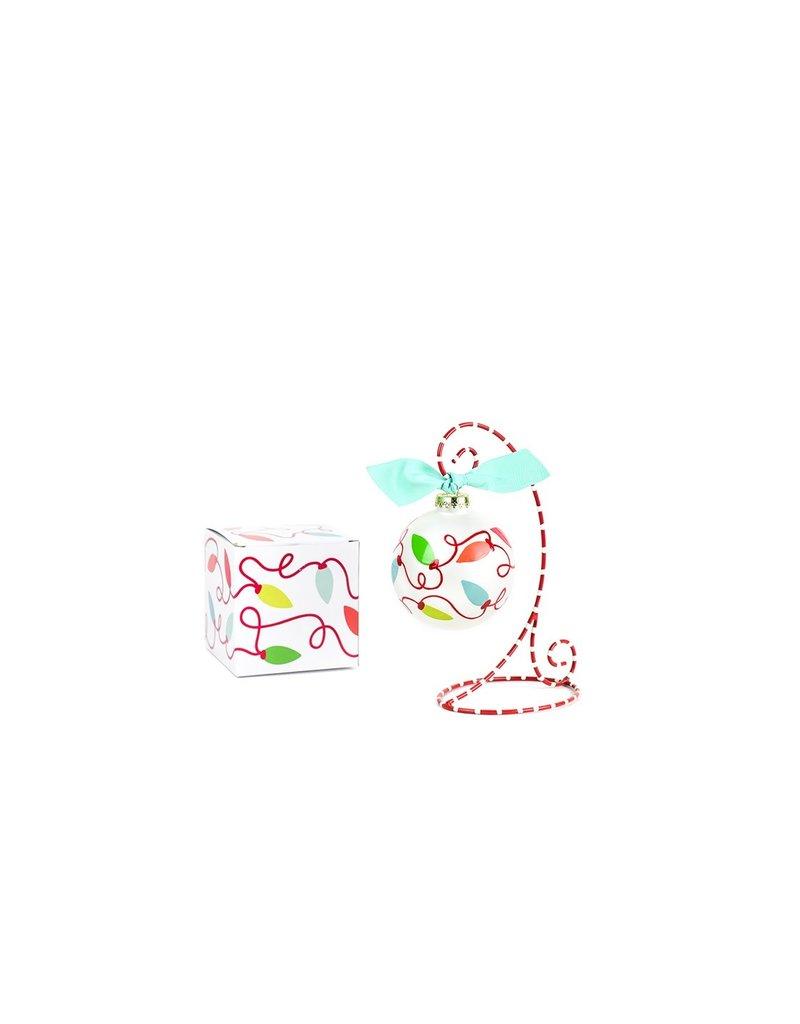 Coton Colors Twinkle Lights Ornament