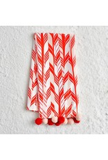Candy Cane Tea Towel