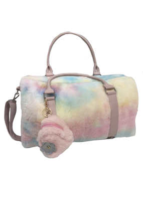 Cotton Candy Jr Fur Duffle