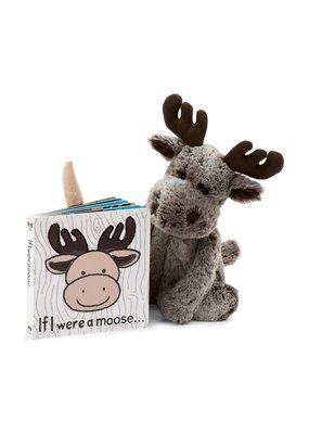 Jellycat If I Were a Moose Book