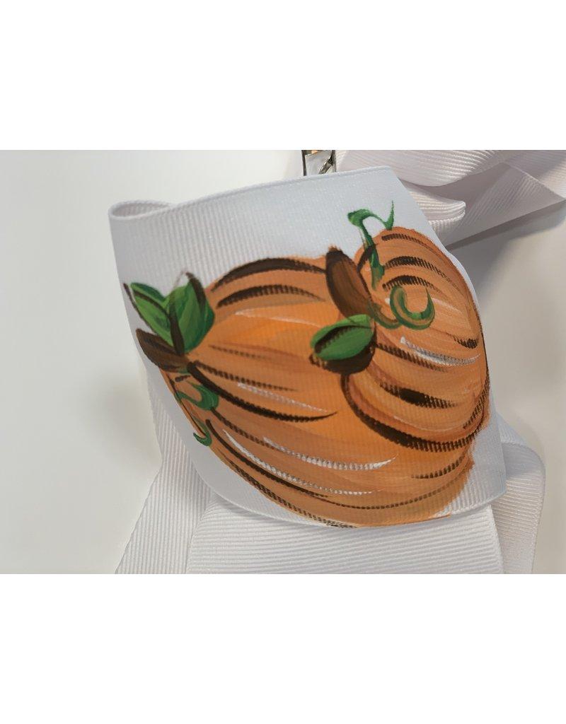 Three Pumpkin XLarge Bow