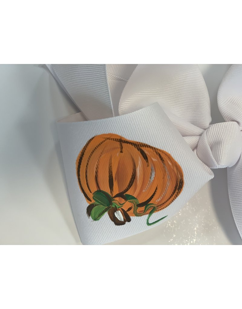 Three Pumpkin Large Bow