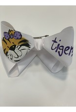 Girl Tiger Face XLarge Bow