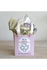 Wine Down Bath Duo Gift Set Pink/White