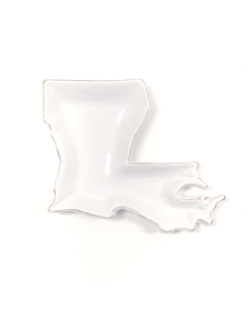 Royal Standard Louisiana Shaped Platter White