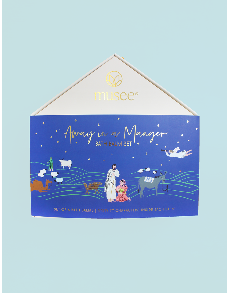 Musee Away in a Manger Bath Balm Set