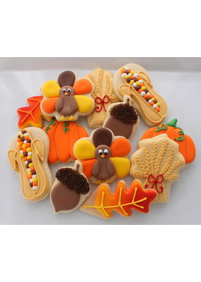 Thanksgiving Cookie Class