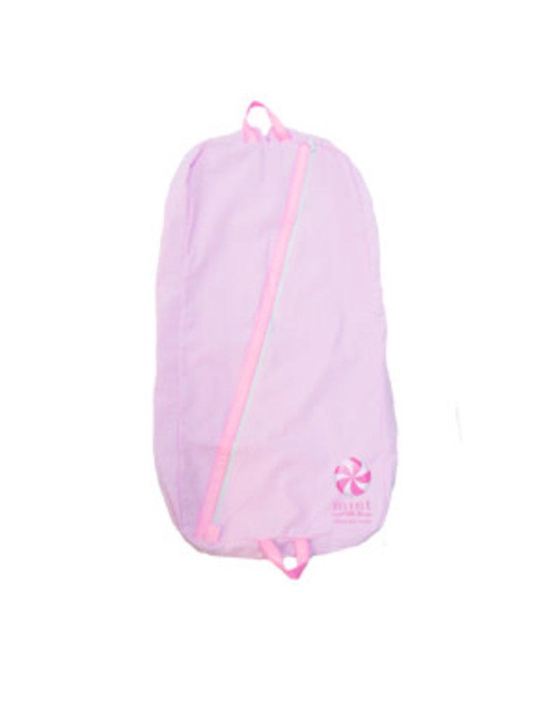 Oh Mint Pink Seersucker Baby Garment Bag