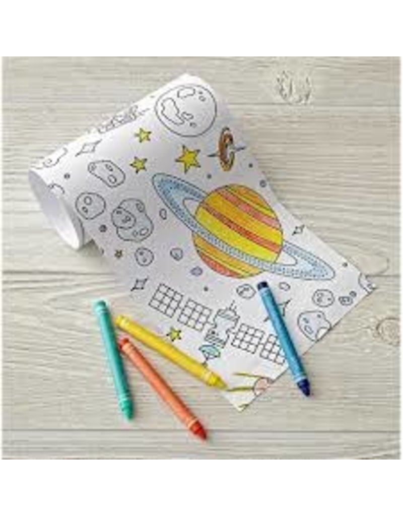 Chronicle Books Outer Space Mini Coloring Roll