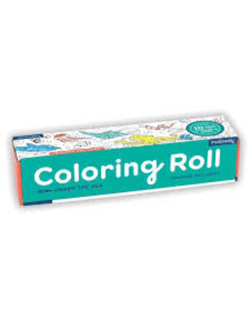 MudPuppy Coloring Roll-Under the Sea