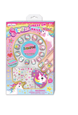 Hot Focus 'Scented Stylin' Press on Nails, Unicorn