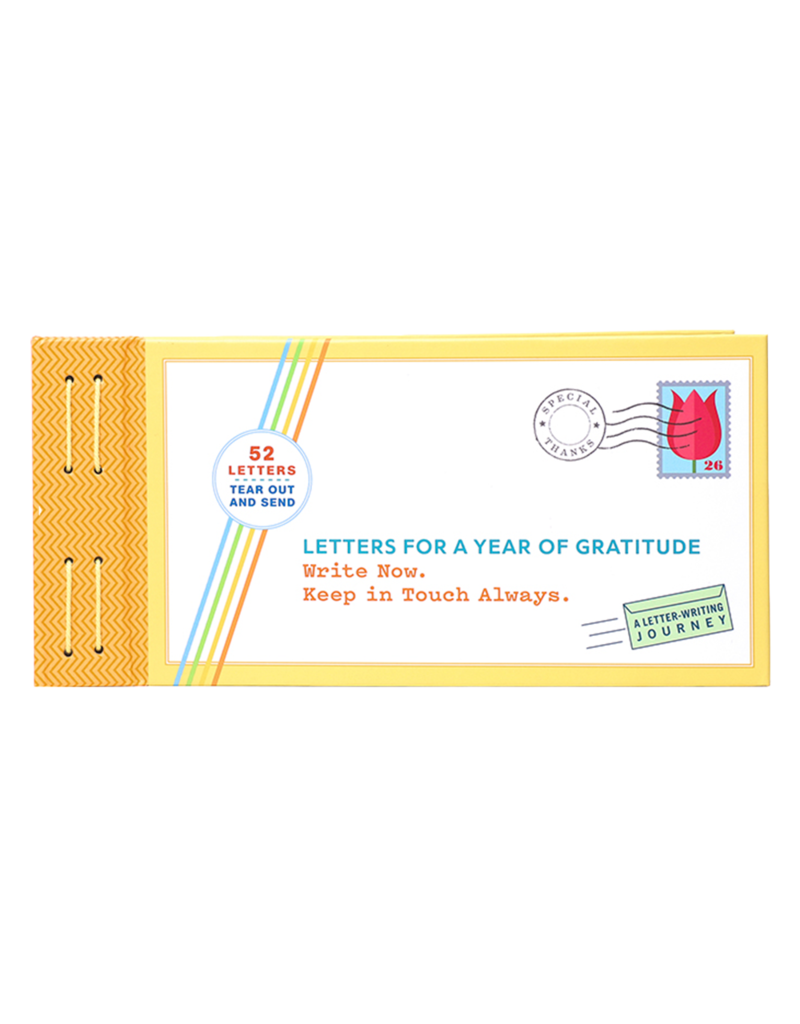 Chronicle Books Letters for a Year of Gratitude