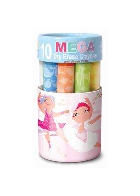 The Piggy Story Dry Erase Mega Crayon - Pretty Ballerinas