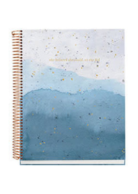 Waste Not Paper Blaze Glaze Spiral Notebook