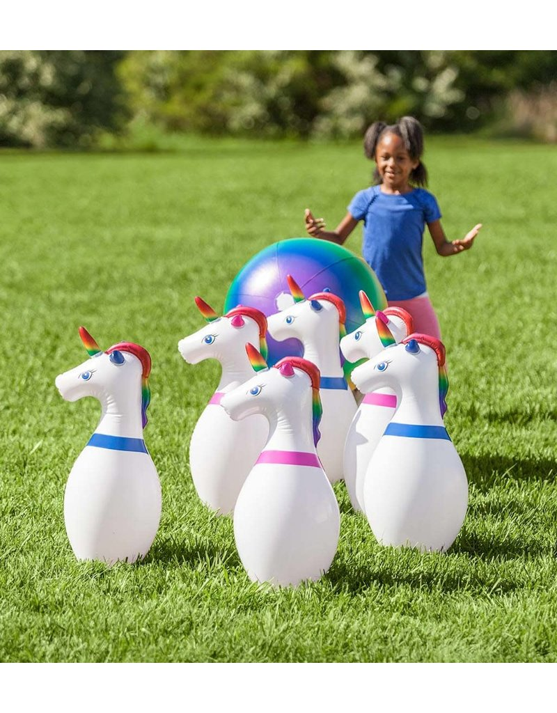 Inflatable Unicorn Bowling