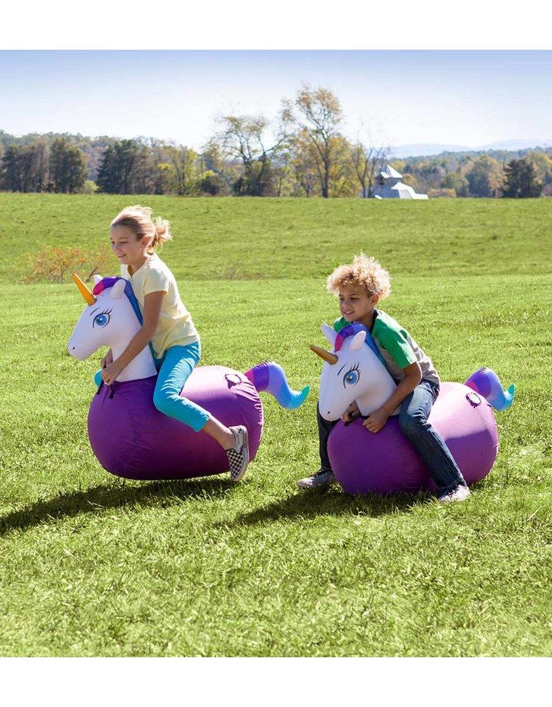 Inflatable Ride-On Hop n Go Unicorns