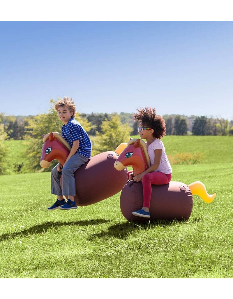 Inflatable Ride-On Hop n Go Horses