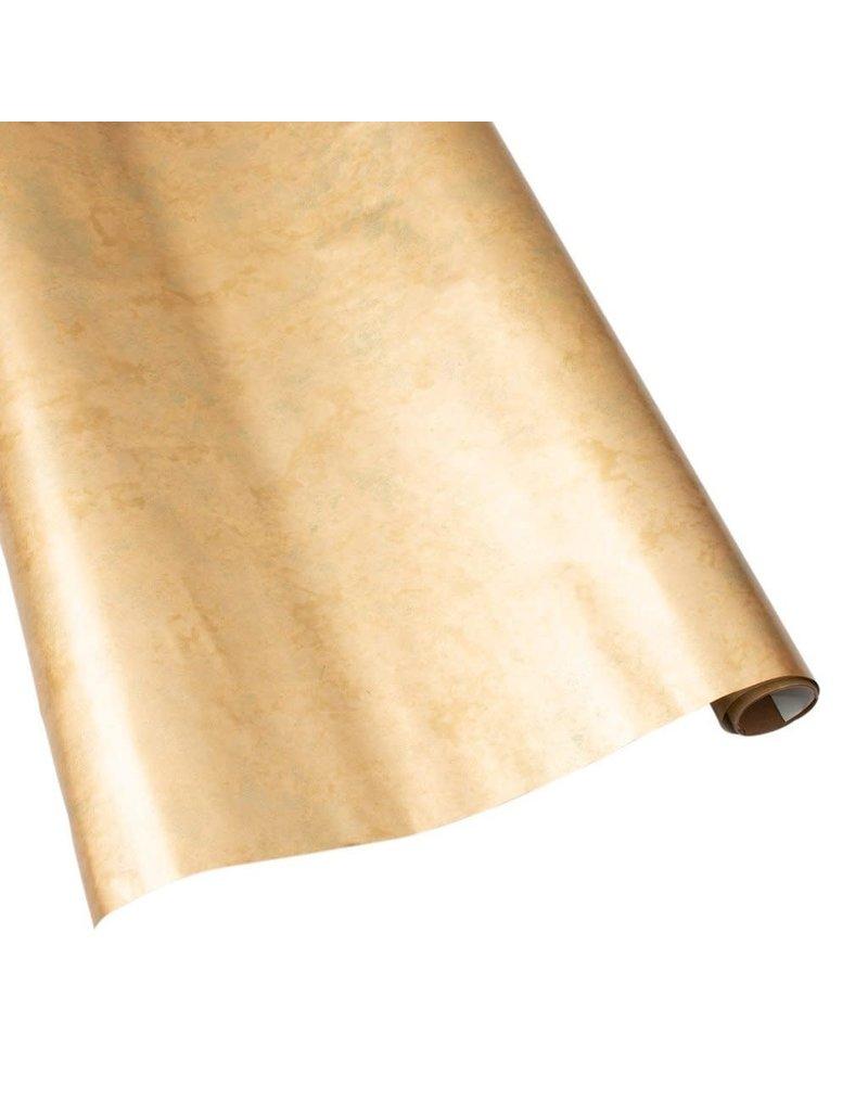 Caspari Antique Gold Gift Wrap Roll