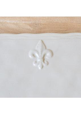 Royal Standard Fleur de Lis Platter