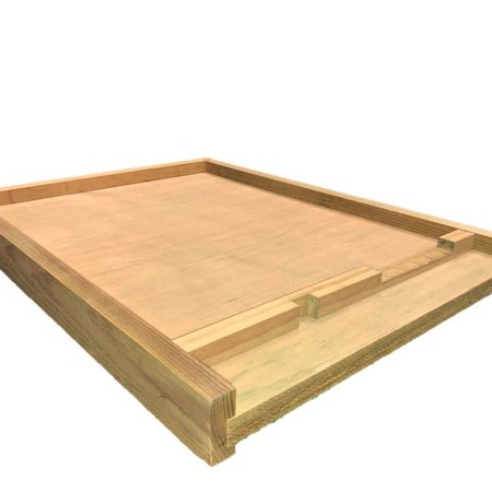 10 Frame Treated Bottom Board w/Entrance Reducer