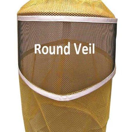 Round Veil with Drawstring