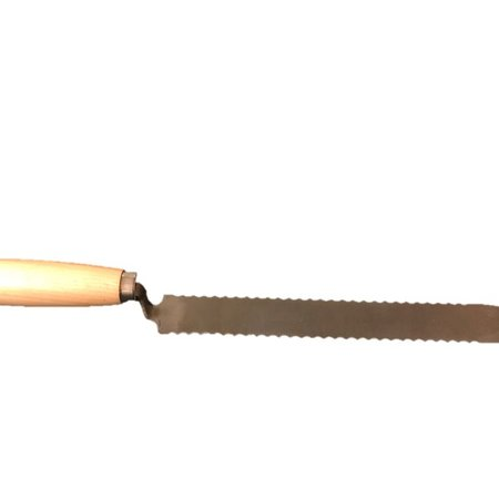 Uncapping Knife with Wooden Handle