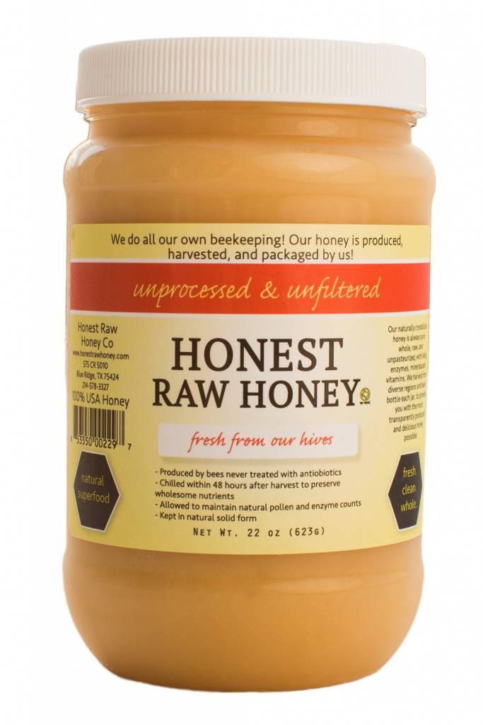 22 oz Honest Raw Honey