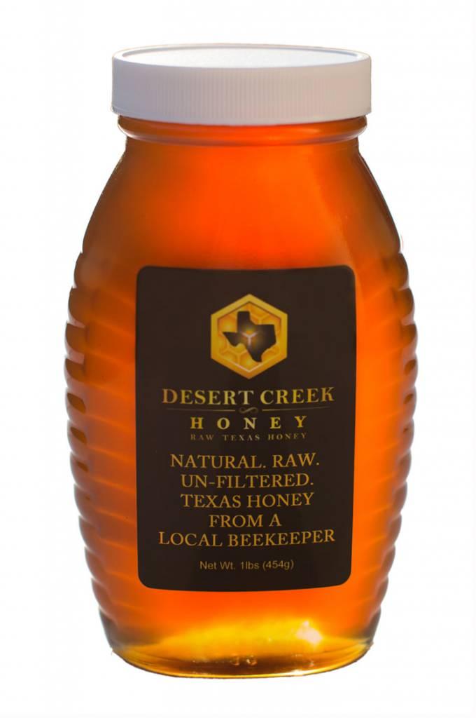 1 lb. Glass Jar of Honey