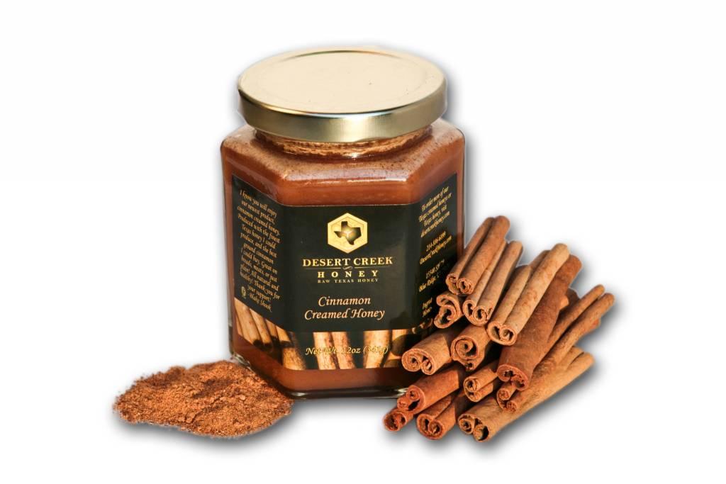 Cinnamon Creamed Honey