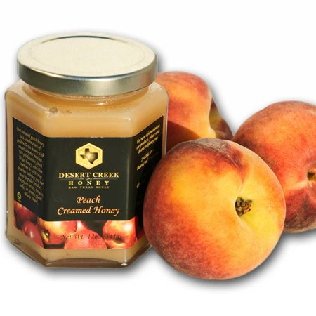 Peach Creamed Honey