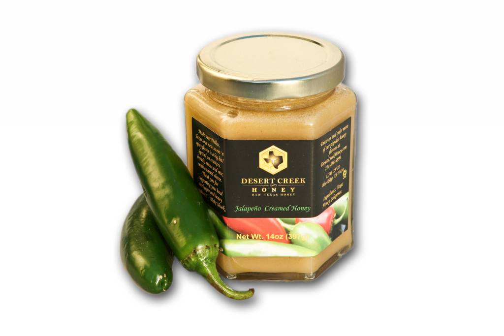 Jalapeno Creamed Honey