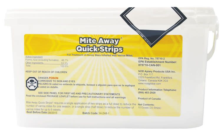 Mite Away Strips (10 Treatments)