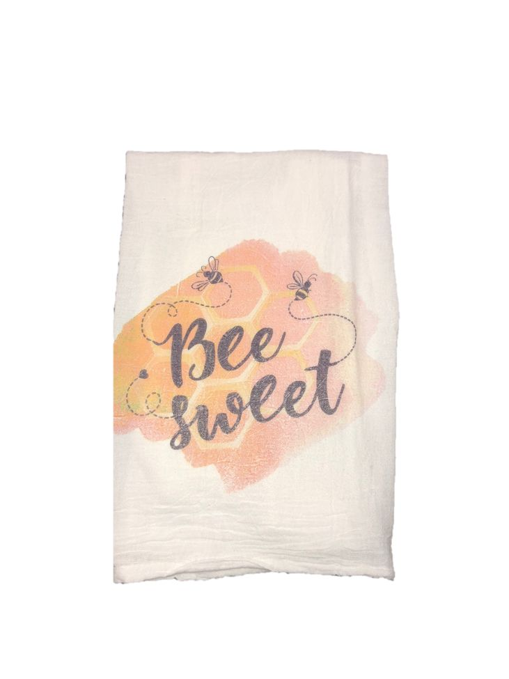 Bee Sweet Dish Towel