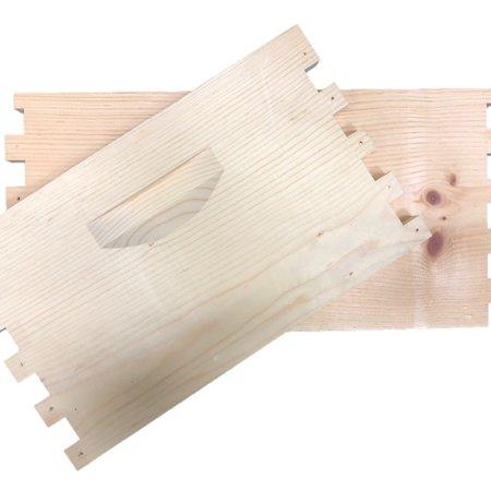 8 Frame Deep Unassembled Pine Hive Box