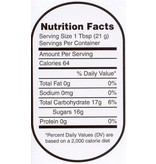Nutrition Labels - X Large 250 roll