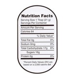 Nutrition Labels - Large 250 roll