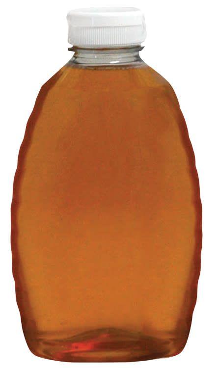 Plastic Squeeze Bottle w/o Lids 2 lb. 12 pk
