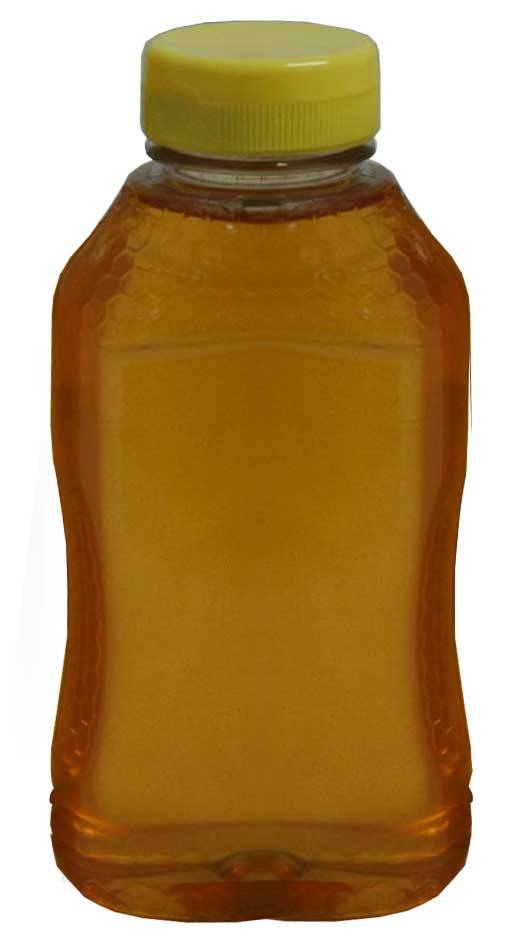 Plastic Hourglass Bottle w/o Lids 1lb. 12 pk
