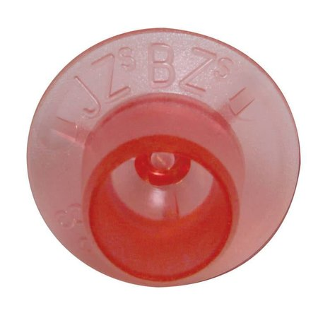 JZ BZ Base Mount Cell Cups-Red 100 Pk