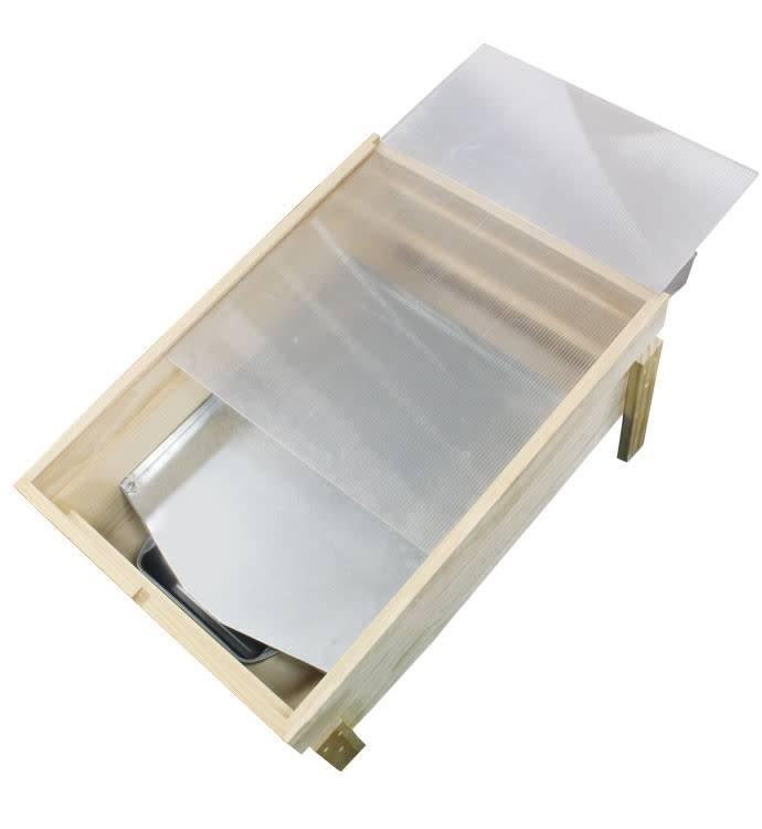 Wooden Solar Wax Melter